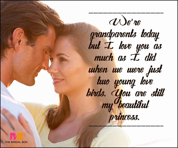 True Love SMS - We're Grandparents