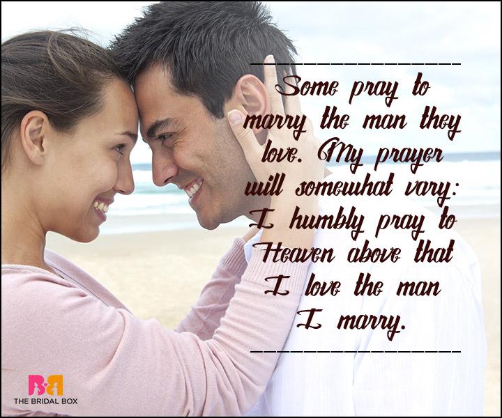 True Love SMS - My Prayer