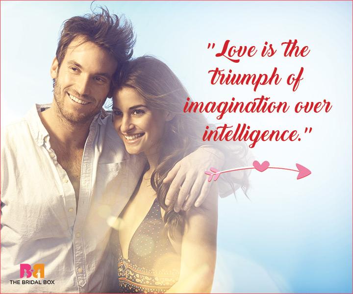 Unique Love Status - Imagination Over Intelligence