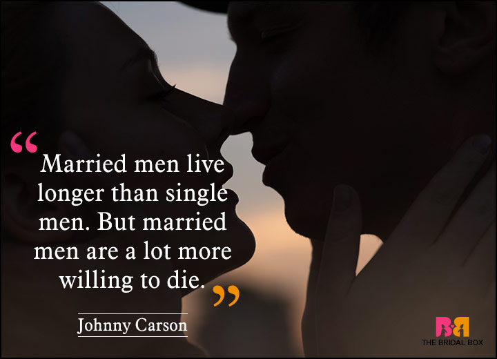 Anti Love Quotes - Johnny Carson