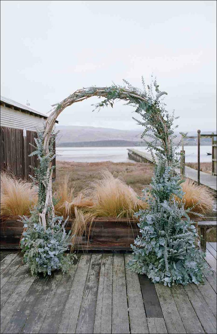Wedding Arch Decorations - Birch And Eucalyptus Arch