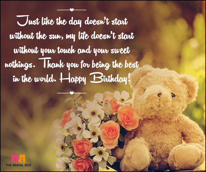Birthday Love Quotes : 48 Quotes Straight From The Heart!