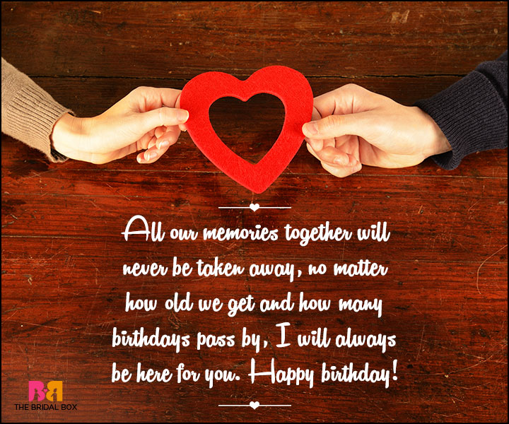 Birthday Love Quotes - 5