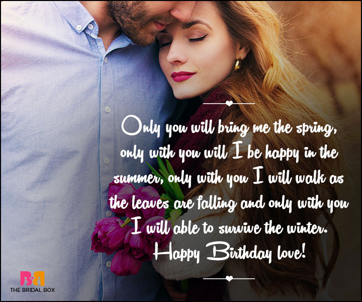 Birthday Love Quotes - 8