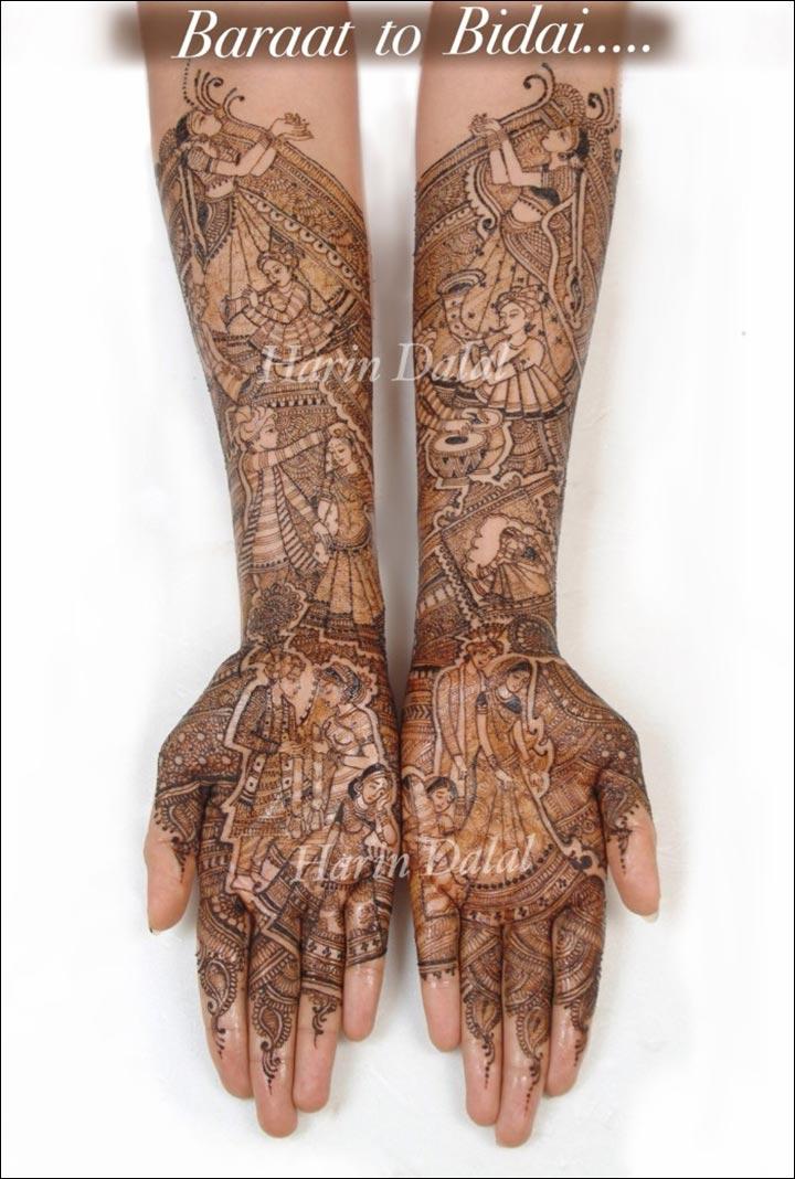 Harin Dalal Mehndi - Bridal Extravaganza