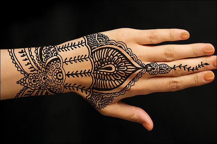Ring Mehndi Designs - Bridal Look Inspired Mehndi