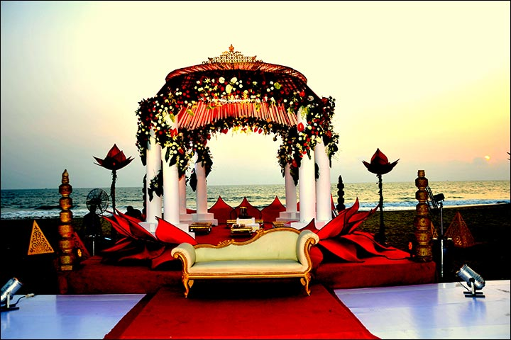 Wedding Arch Decorations - Mandap By The Beach Arch