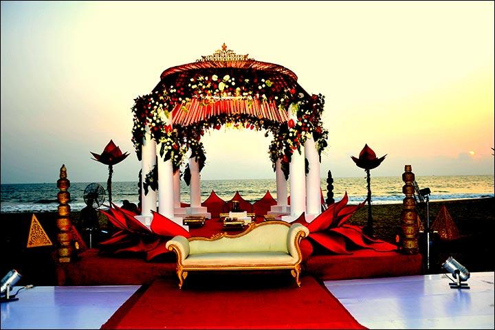 Wedding Arch Decorations - Mandap By The Beach Arch