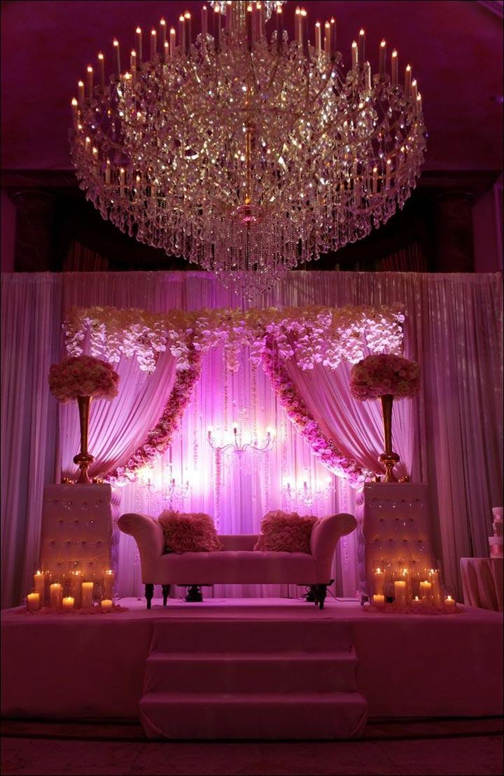 Wedding Arch Decorations - Chandelier Arch
