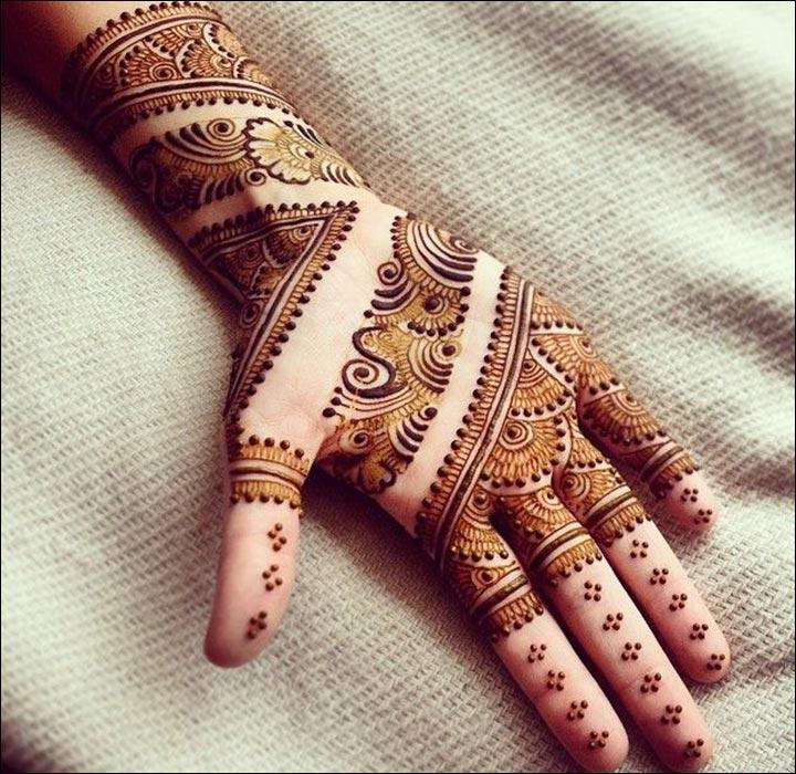 Connect-The-Dots-Pakistani Mehndi Designs