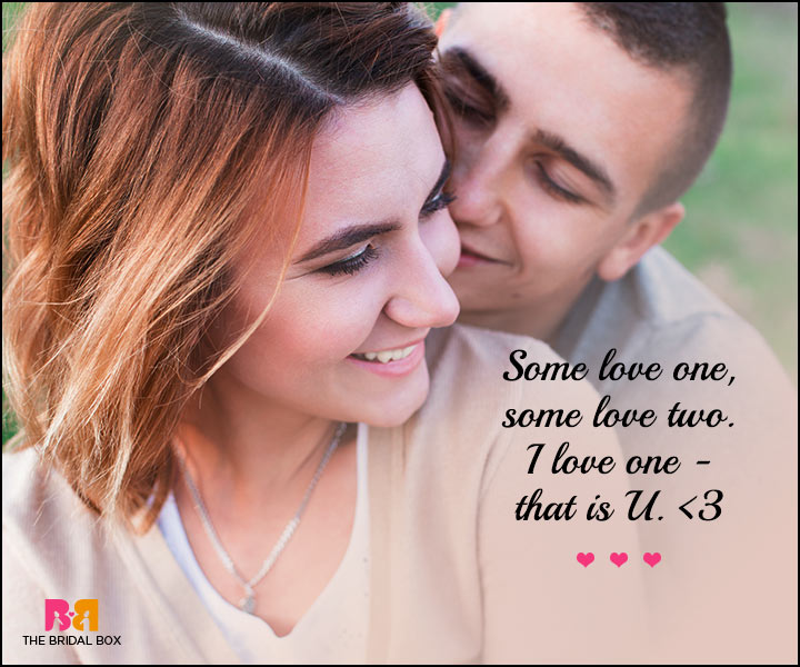 Cute Love SMS - Some Love