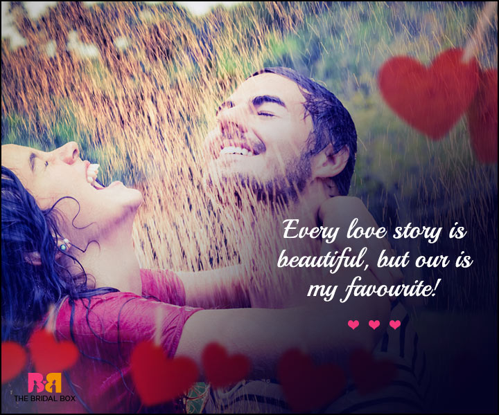 Cute Love SMS - Love Story