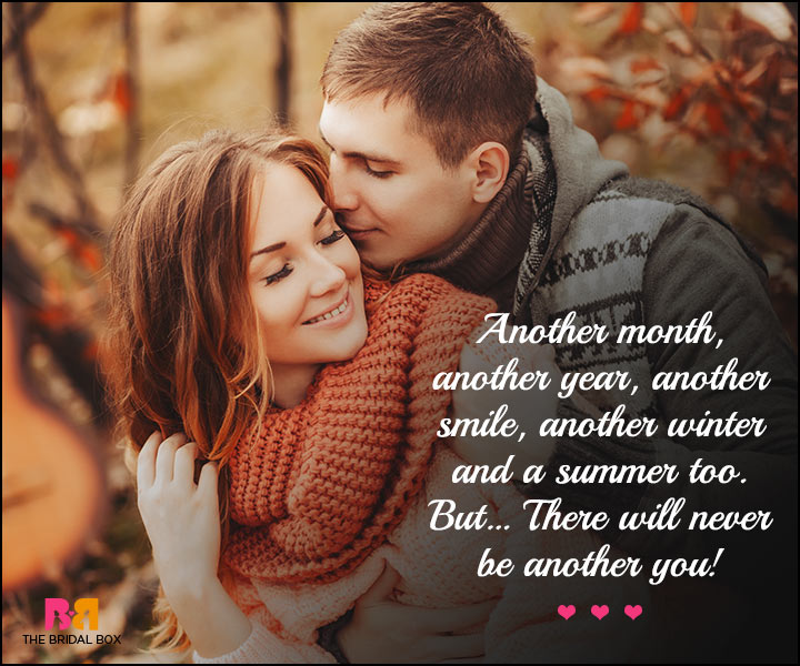 Cute Love SMS - Another Month