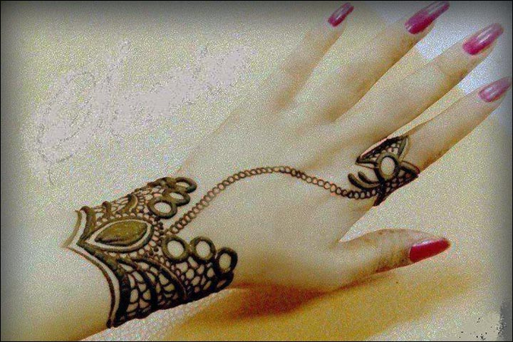 Ring Mehndi Designs - Cute To The Core