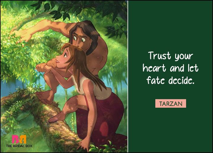 Disney Love Quotes - Tarzan