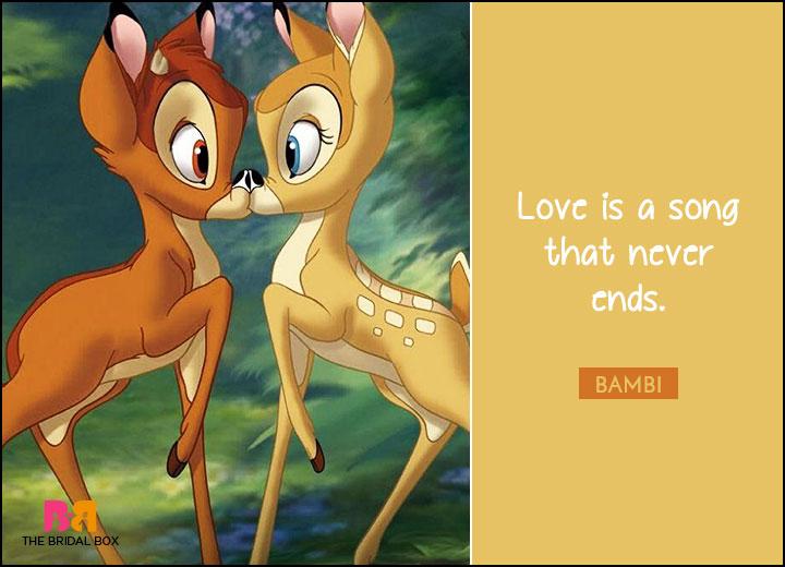 Disney Love Quotes - Bambi