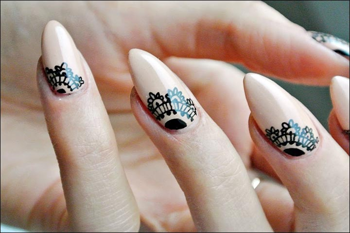 Nail Mehndi Designs 15 Beautiful Nail Arts Artsy To The Core
