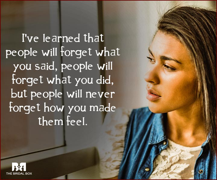 Forget Love Quotes - People Will Forget