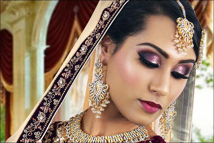Engagement Makeup - Glitter Shine