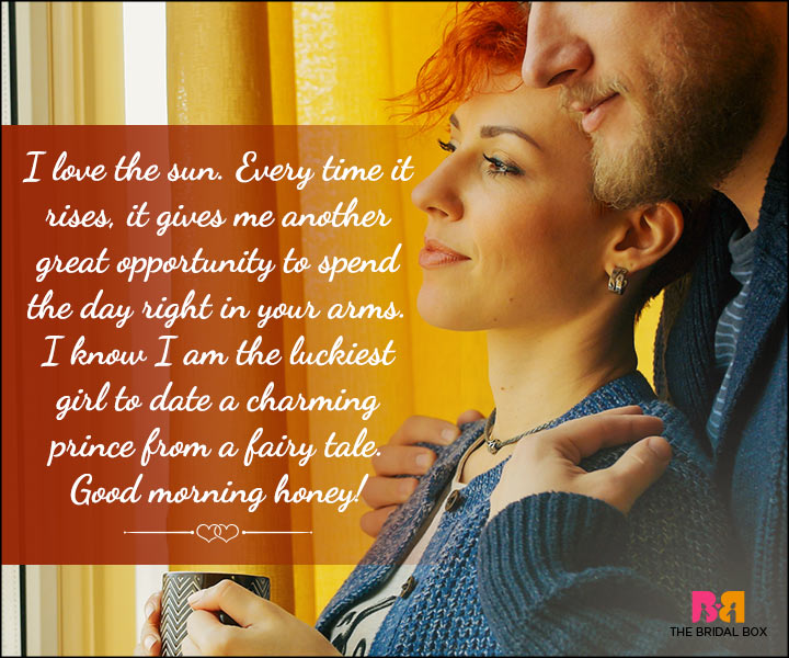 Good Morning Love Quotes For Him: The Sweetest 14