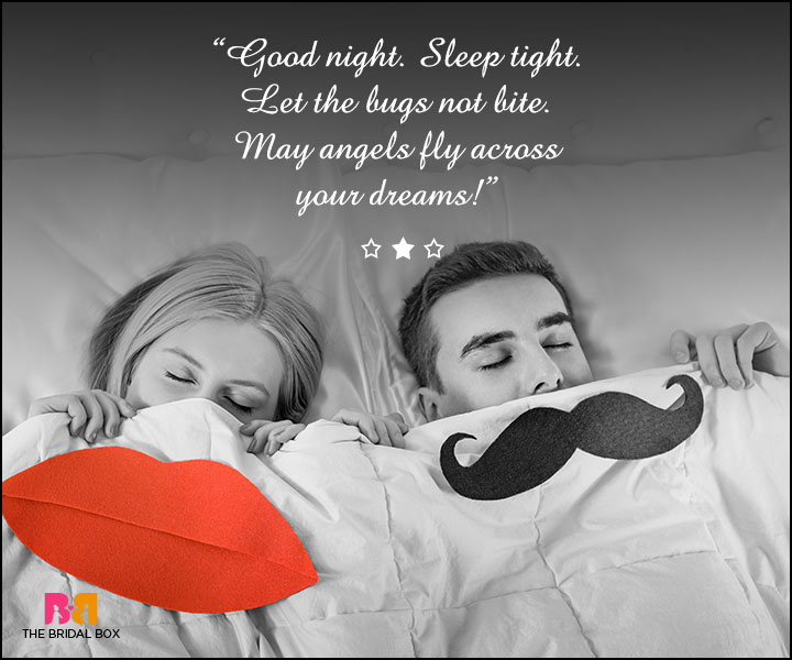 Good Night Love SMS For Girlfriend - Sleep Tight