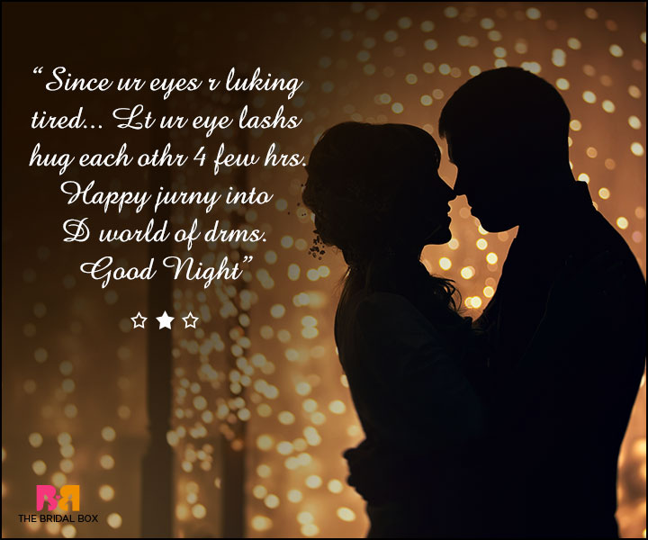 Good Night Love SMS For Girlfriend - Happy Jurny