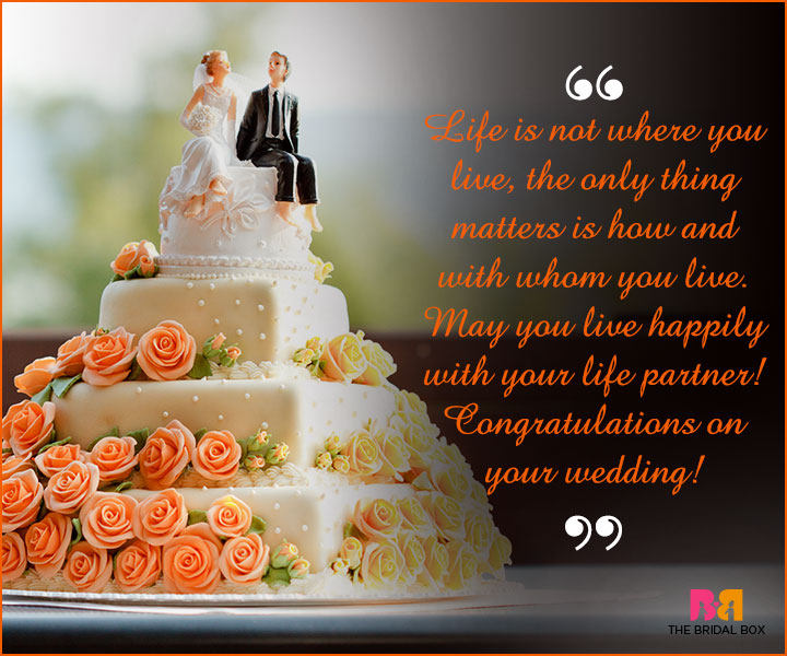 Marriage Wishes SMS - The Only Thing That Matters