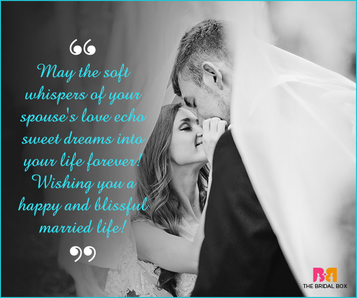 Marriage Wishes SMS - The Soft Whispers Of Your Love