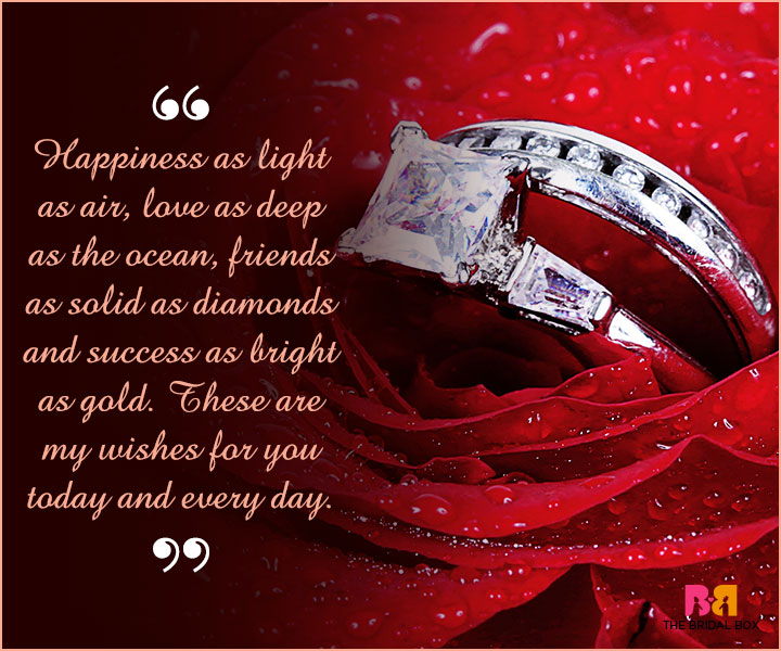 Marriage Wishes SMS - Light As Air, Deep As The Ocean