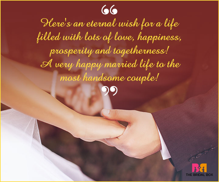 Marriage Wishes Sms An Eternal Wish