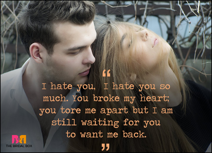 I Hate I Love You Quotes : Hate You But I Love You Quotes: 15 Of The Best