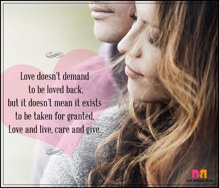 Love Poems For Husband - Love And Live, Care And Give