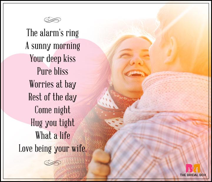 I Love You Poem For Husband