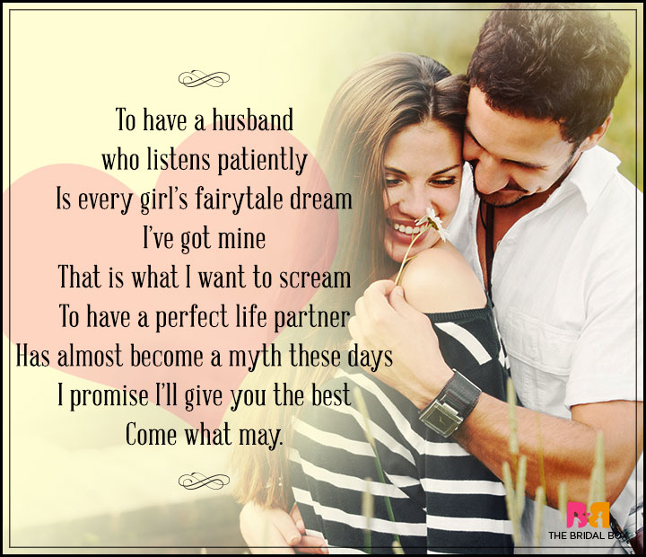 Love Poems For Husband - A Perfect Life Partner