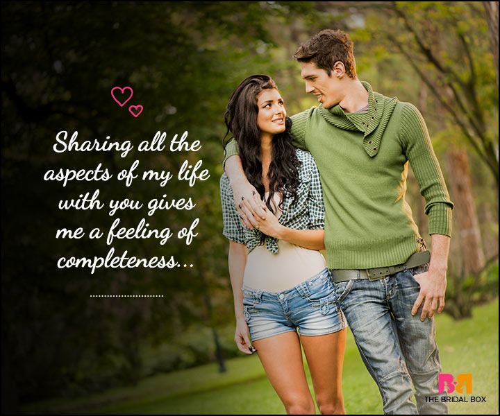 Love SMS For Him - Sharing All