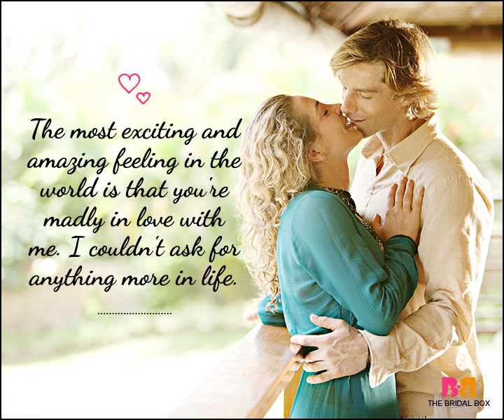 Love SMS For Him - Madly In Love