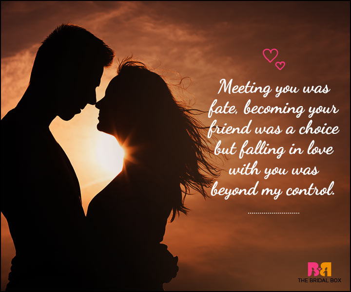 Love SMS For Him - Fate