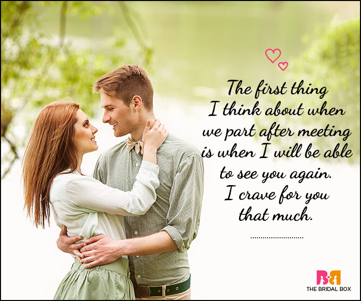 Romantic sms to him