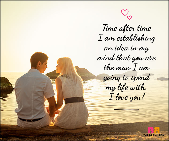 Love SMS For Him - Time After Time