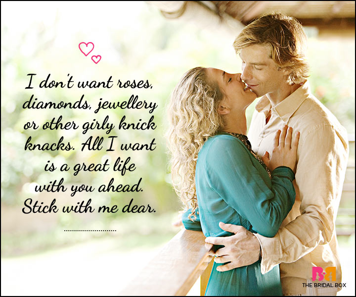 Love SMS For Him - Roses And Diamonds