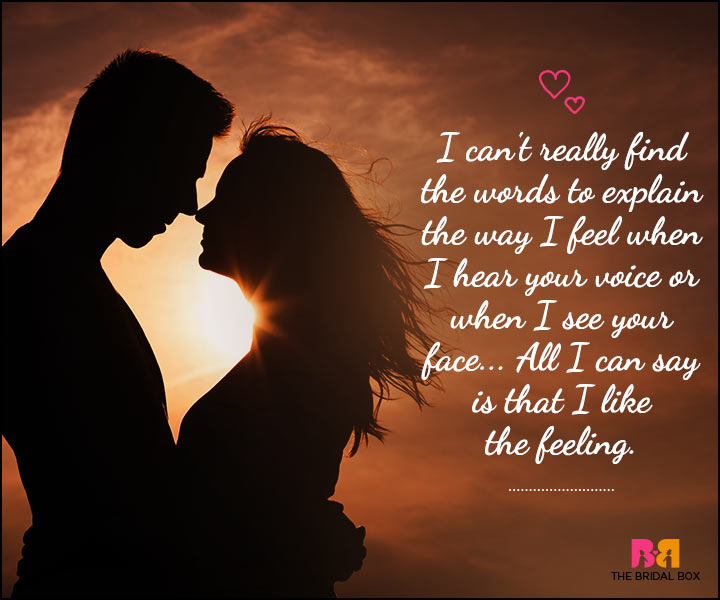 Love SMS For Him - Words