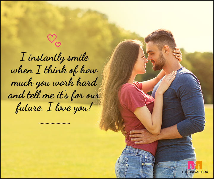 Love SMS For Him - I Smile