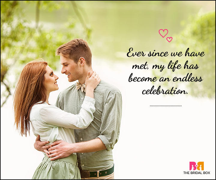 Love SMS For Him - An Endless Celebration