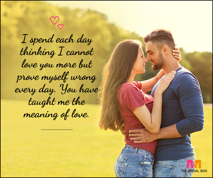 Love SMS For Him - I Cannot Love You More