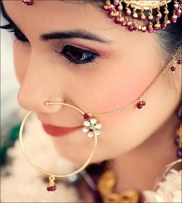 Punjabi Wedding Accessories - Nath