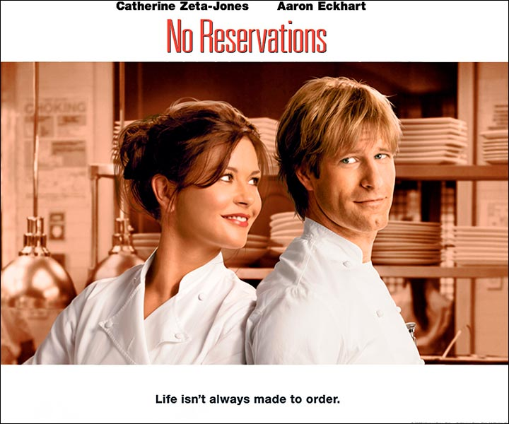 Hollywood Love Story Movies - No Reservations
