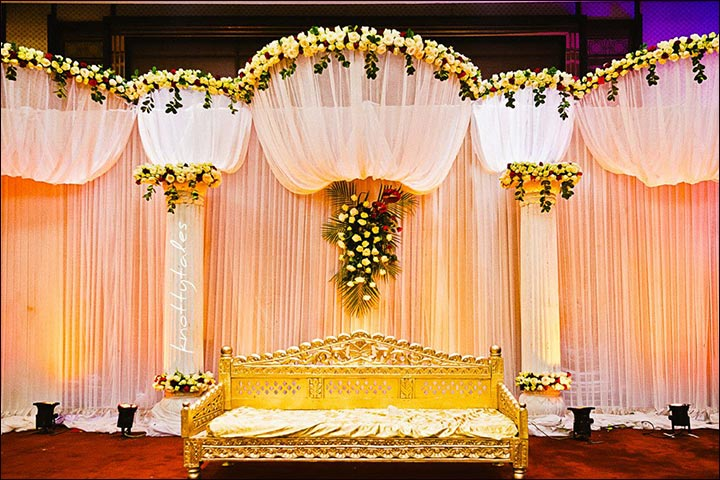 Mehndi Stage Background : Wedding backdrops stage sets for a fairy tale
