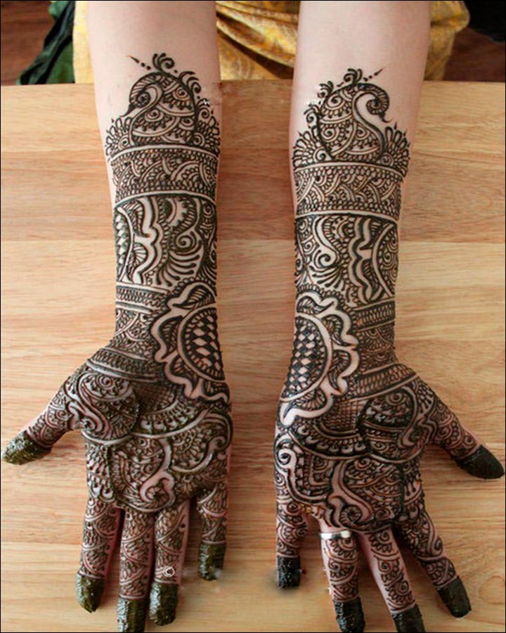 Rajasthani Bridal Mehndi Designs: 14 Charmingly Graceful Designs