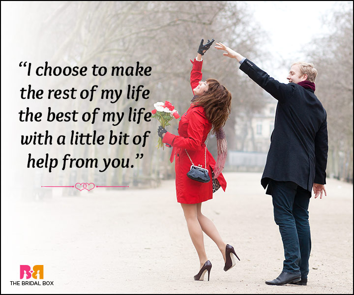 Romantic Love Status - Best Of My Life