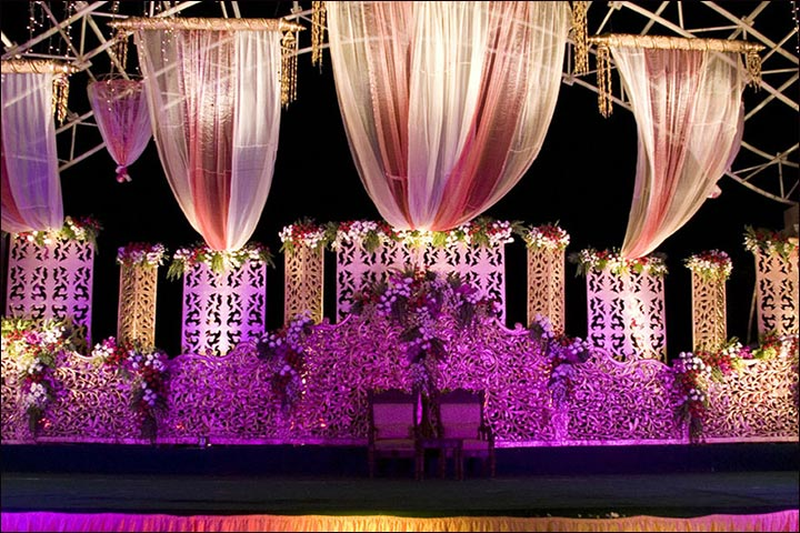 Wedding Backdrop Ideas - Royal Wedding Backdrops